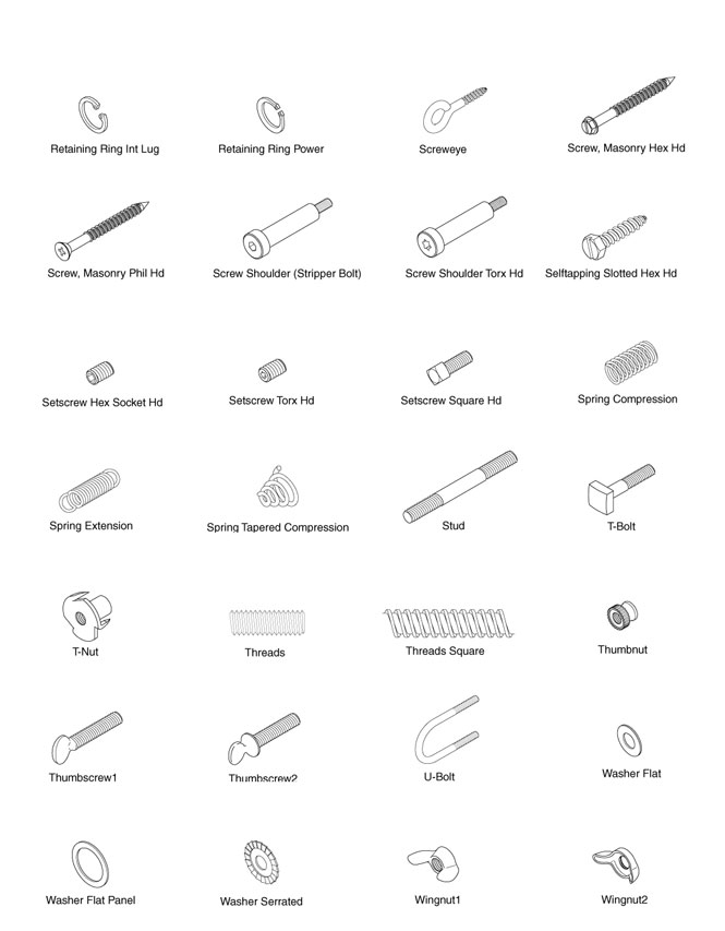 Fasteners Search Page 4
